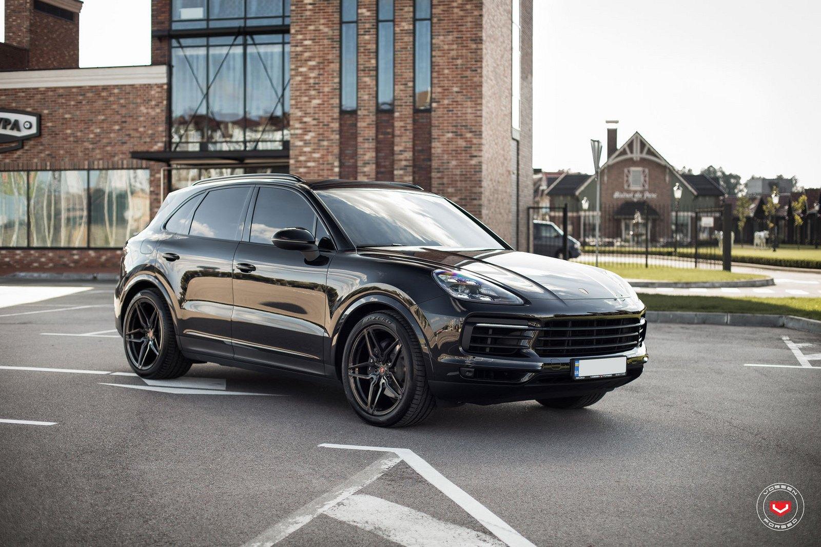 Porsche Cayenne Goes Elegant With Vossen Wheels Carid Com Gallery