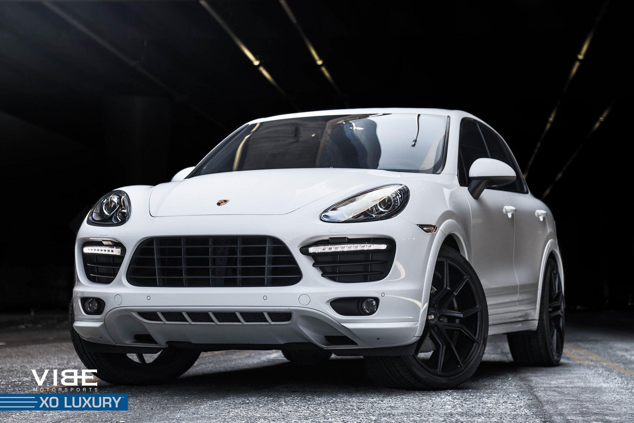 Black Verona Rims By Xo Luxury On Porsche Cayenne Gts Carid Com Gallery