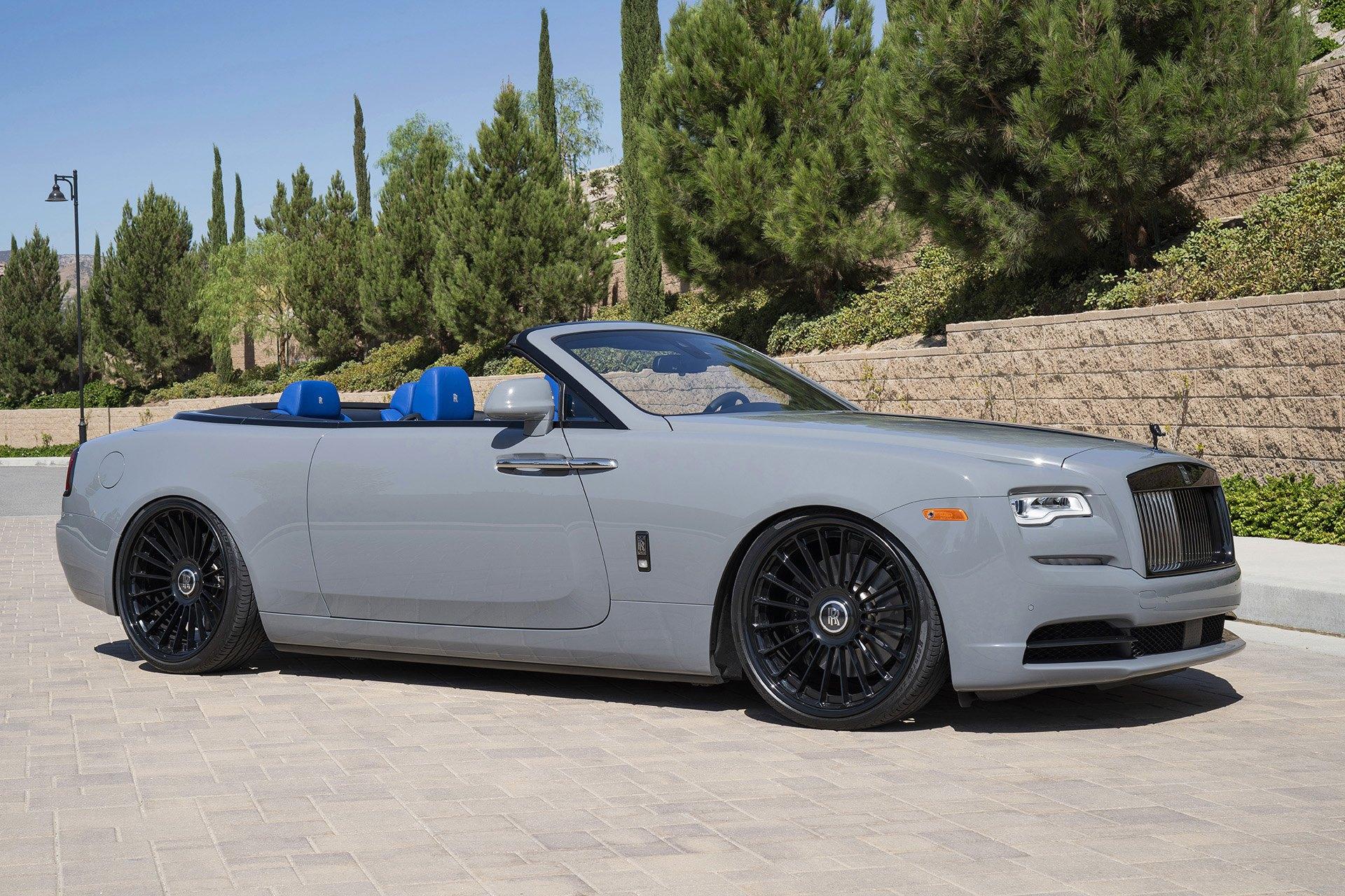 Unique Blue Interior for VIP Rolls Royce Dawn Convertible ...