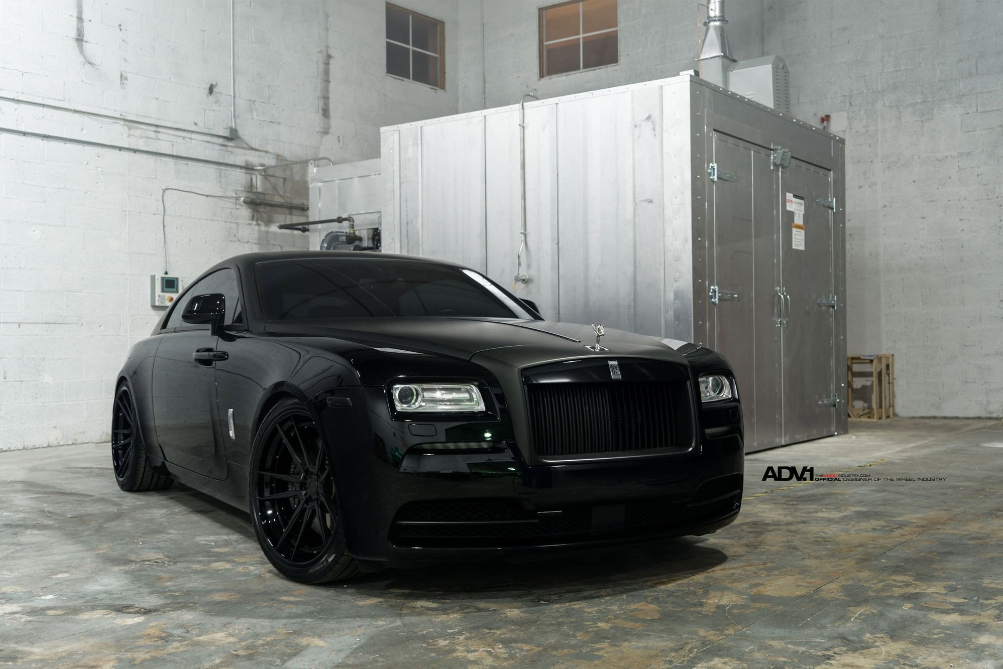 Verbazingwekkend Sinister Custom Blacked Out Rolls Royce Ghost on Matte Black ADV1 PP-19