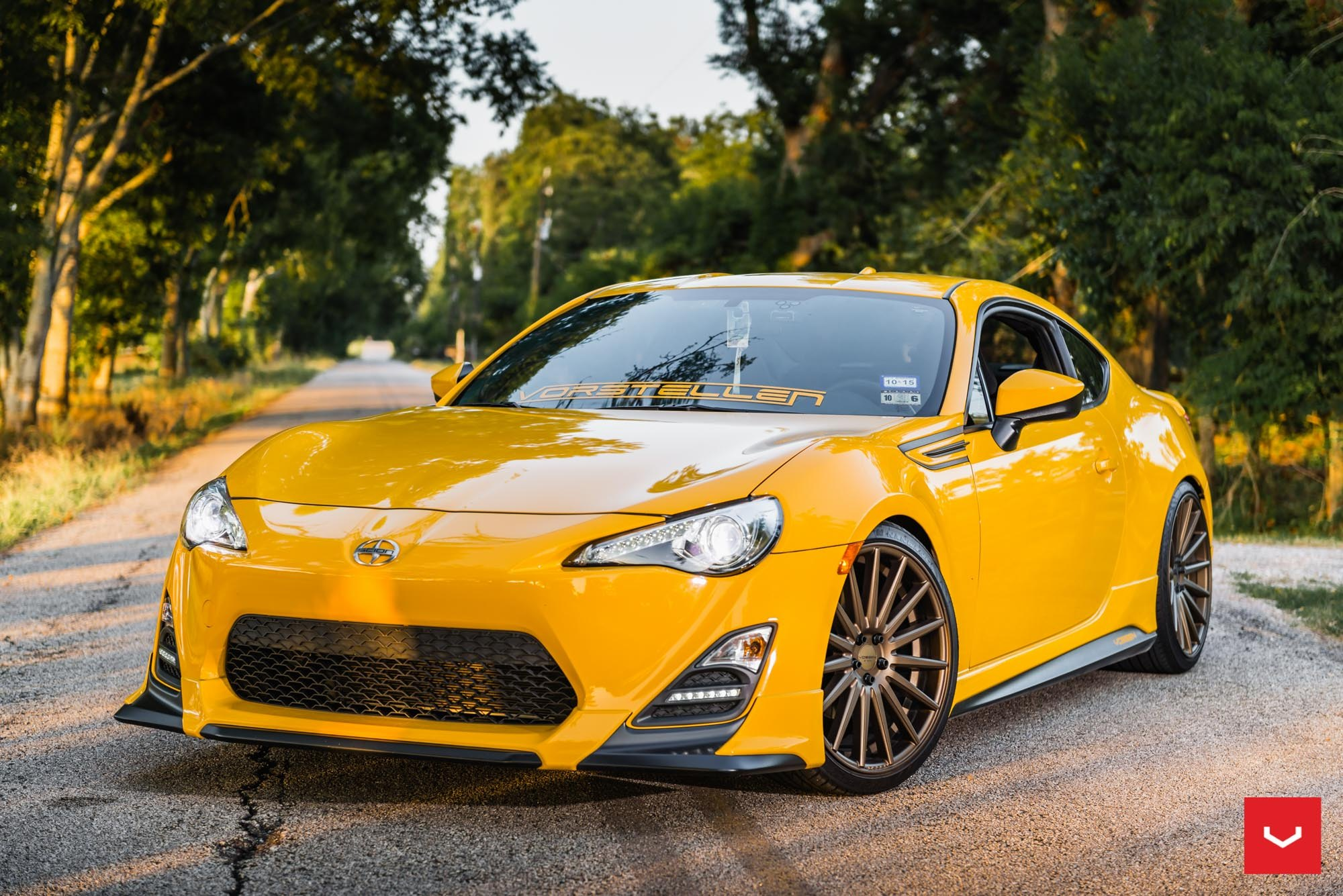 Scion Frs Custom >> Custom Body Kit And Bronze Rims Make Scion Fr S Absolutely