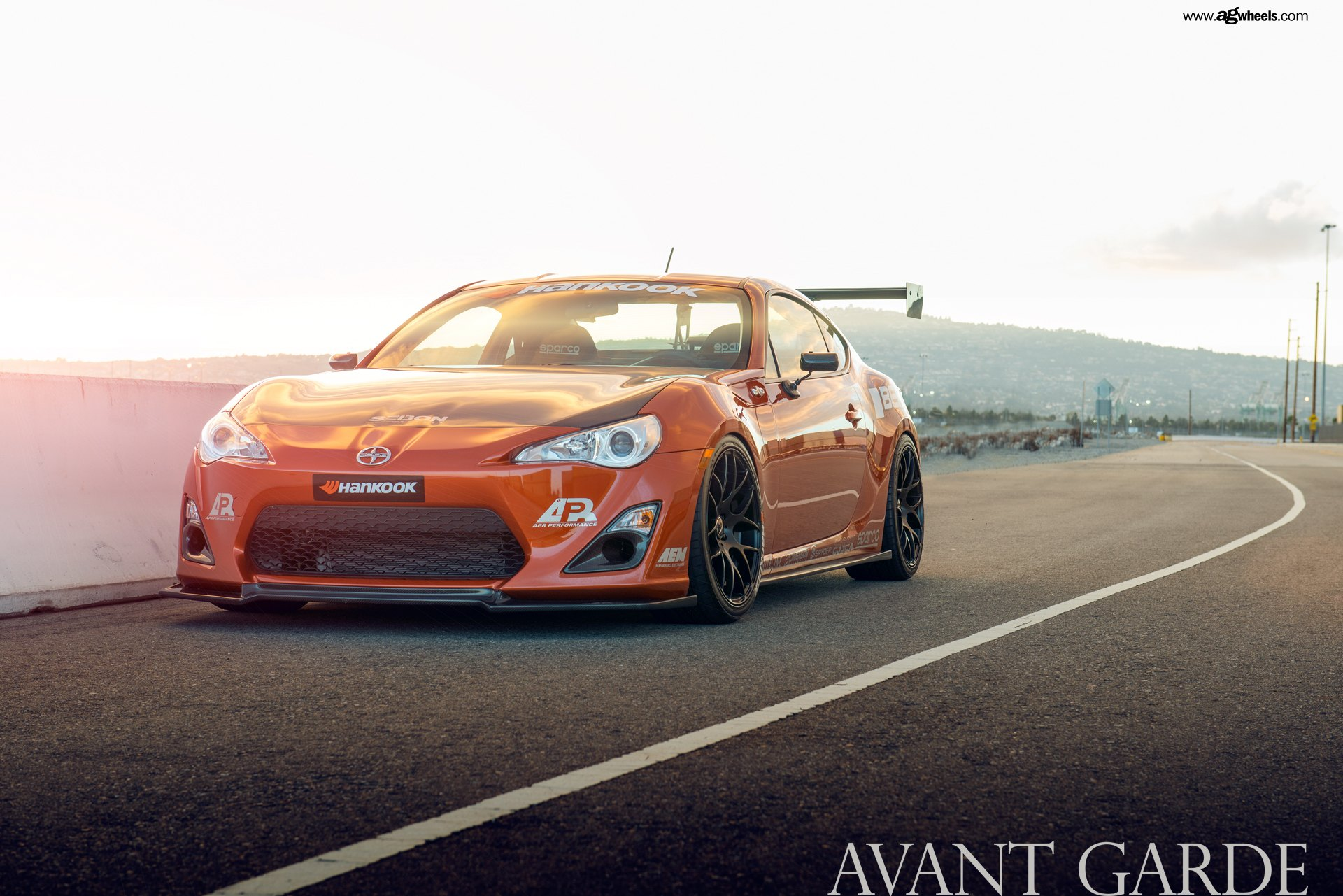 Scion Frs Parts >> Racing Pedigree Of Orange Scion Frs Emphasized By Aftermarket Parts