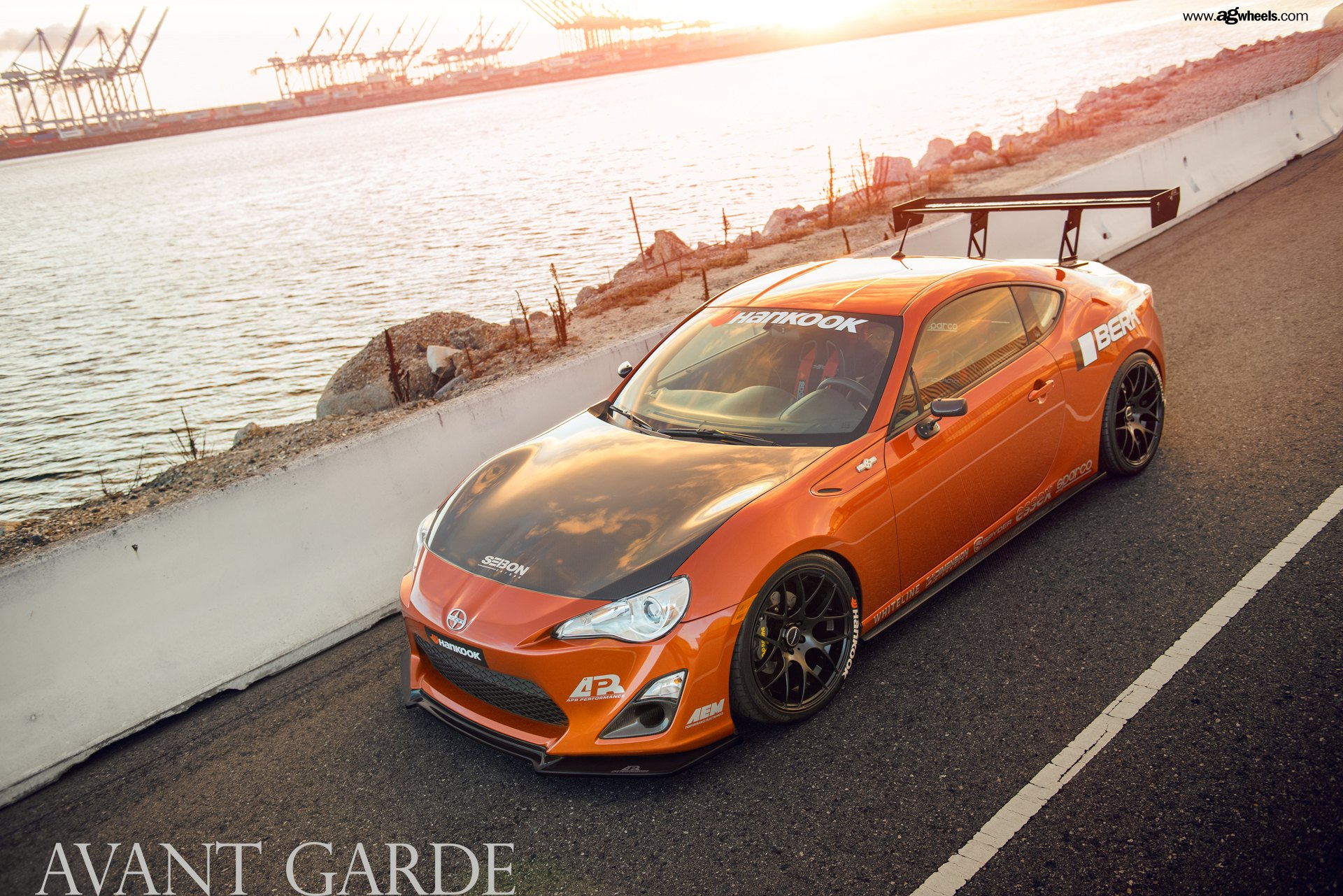 Scion Frs Parts >> Racing Pedigree Of Orange Scion Frs Emphasized By