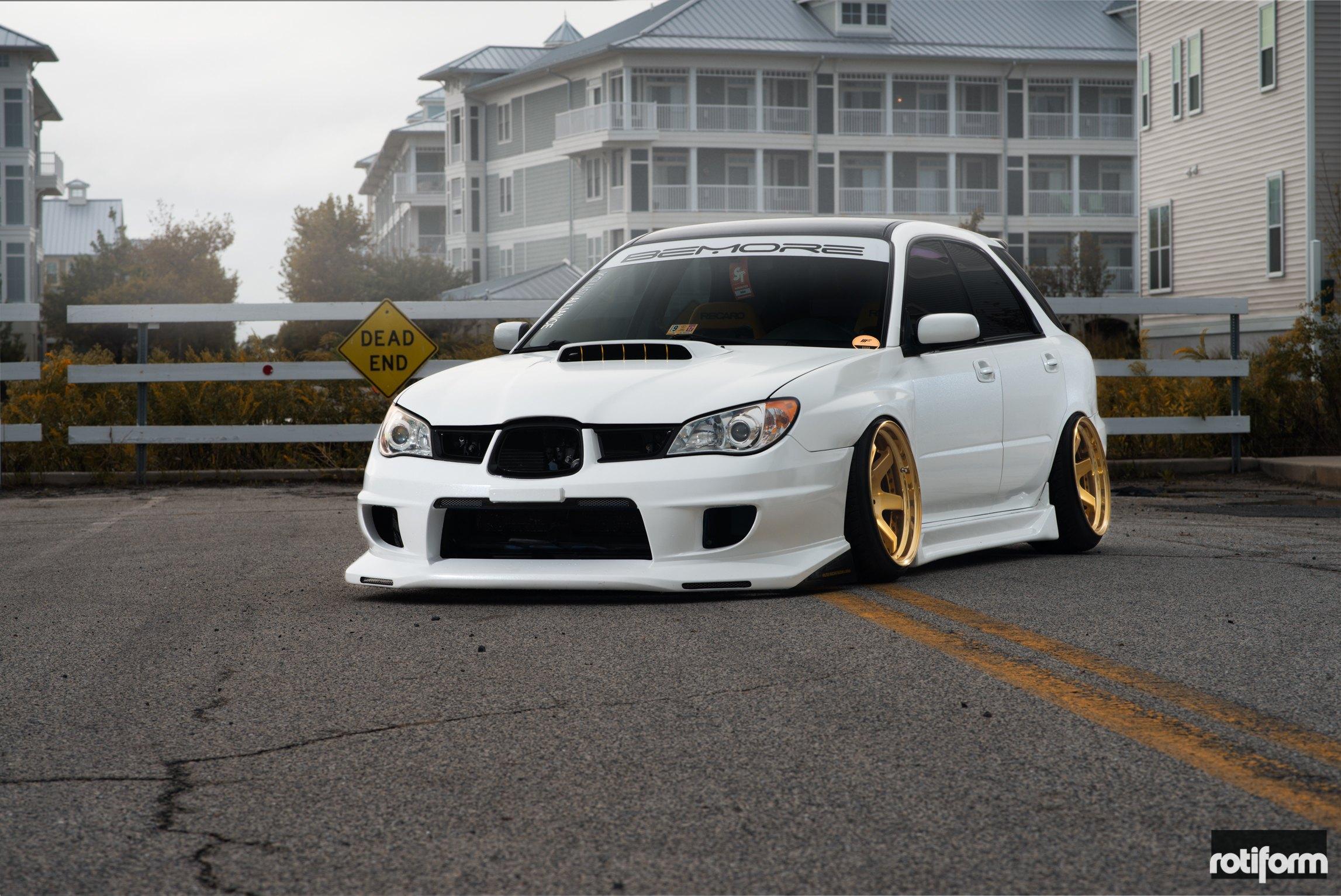100 White Subaru Wrx 18x9 5 Wheels