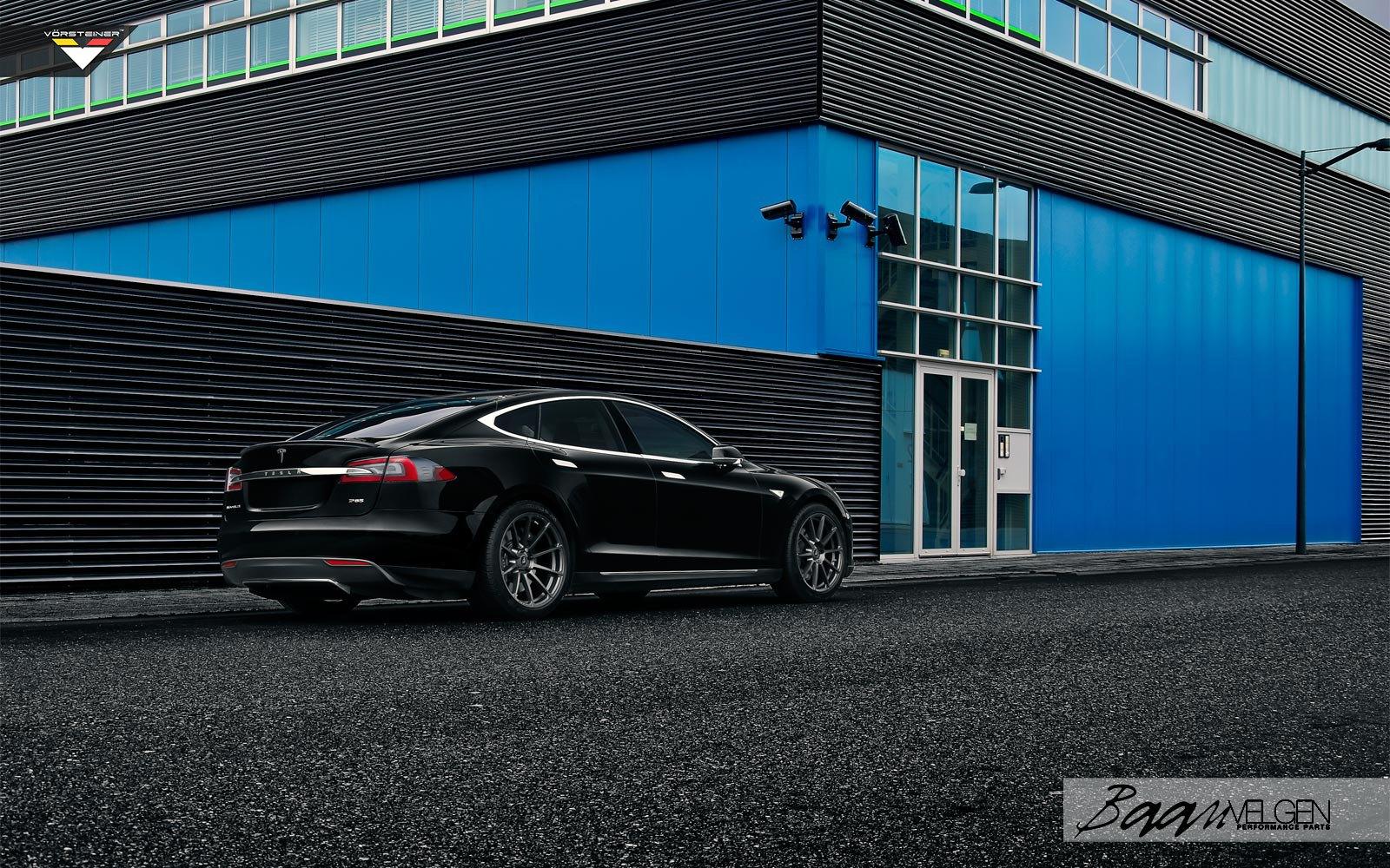 Baan Velgen Reimagines Black Tesla Model S With Aftermarket