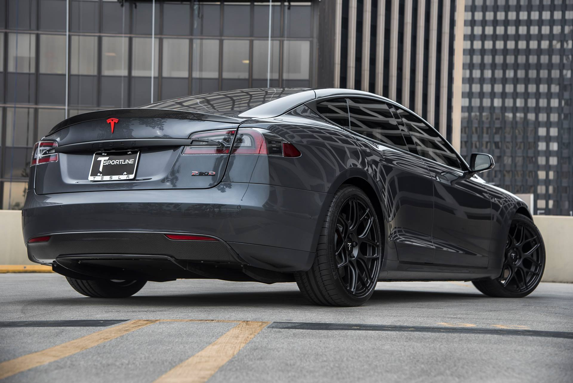 All Charged Up Black Tesla Model S — CARiD com Gallery