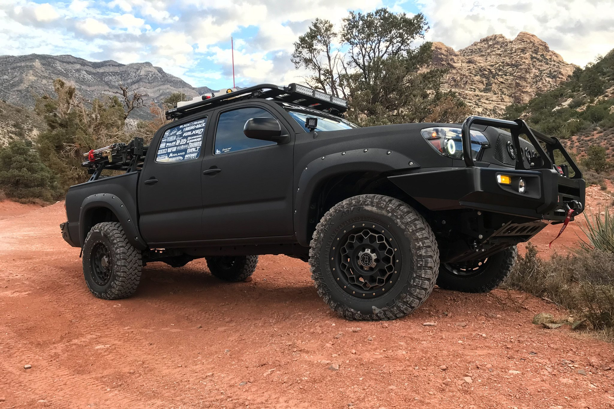 Toyota Tacoma Mods >> Toyota Tacoma Fully Loaded With Off Road Mods Carid Com