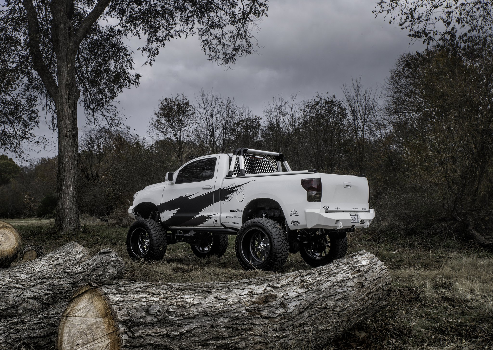 Fully Loaded Short Bed Regular Cab Tundra With Lift and froad