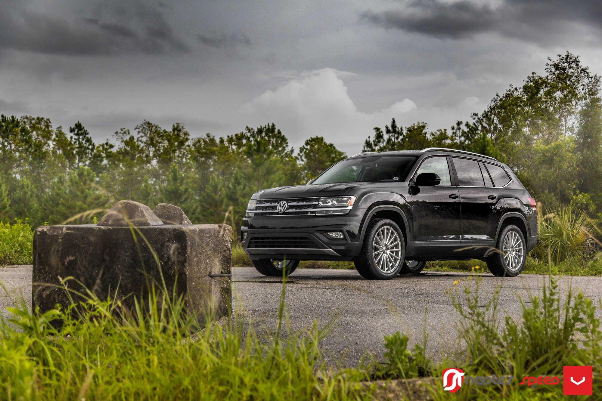 Nice Tuning Kit on Black VW Atlas — CARiD.com Gallery