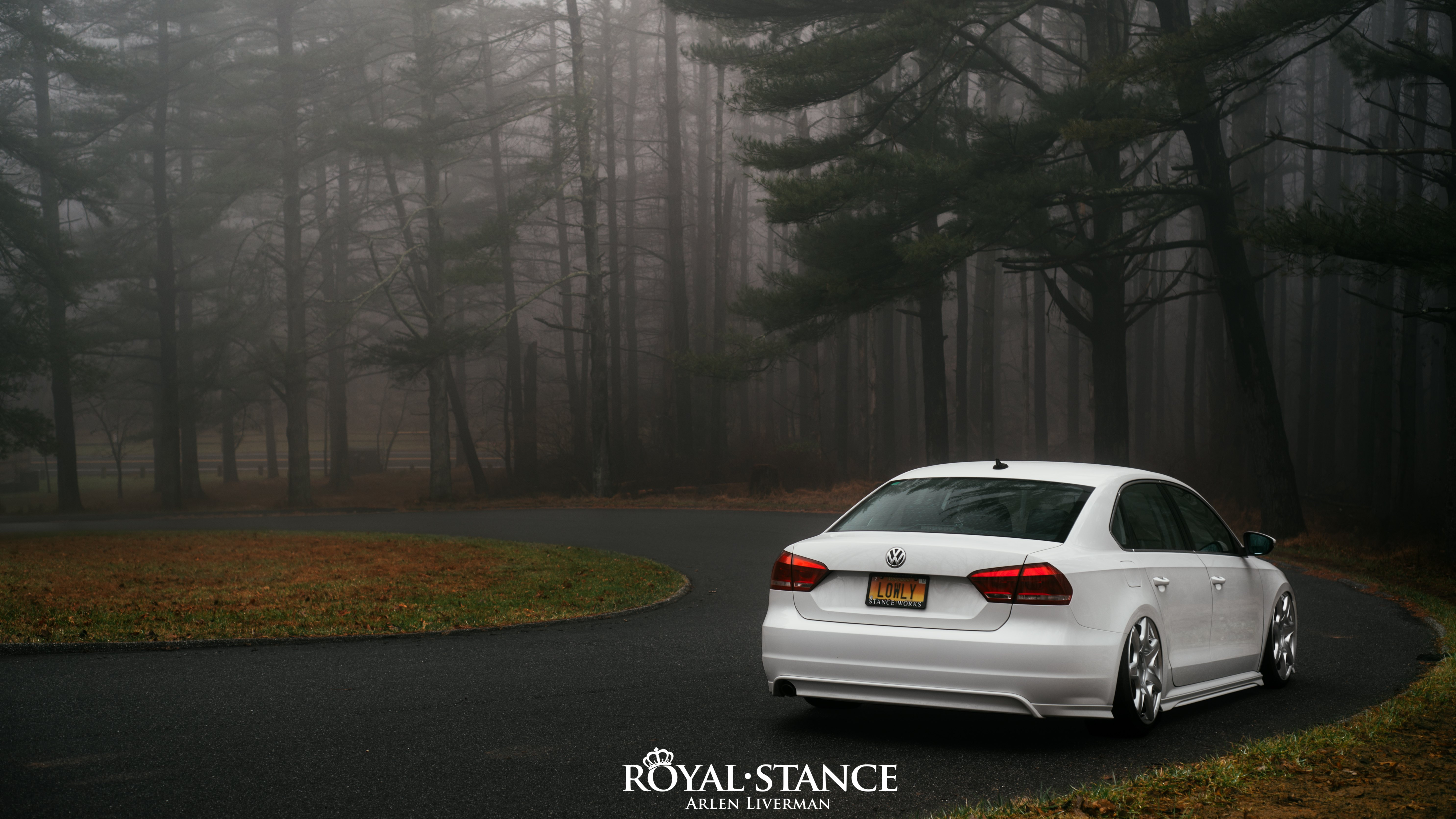 White Lowered Vw Passat Boasts A Touch Of Mystery With Aftermarket Parts Carid Com Gallery