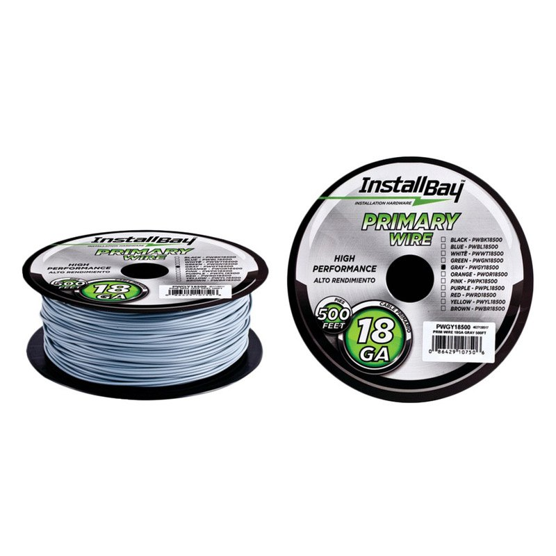 Gray Coil Wire : Install bay pwgy  gauge primary wire gray coil