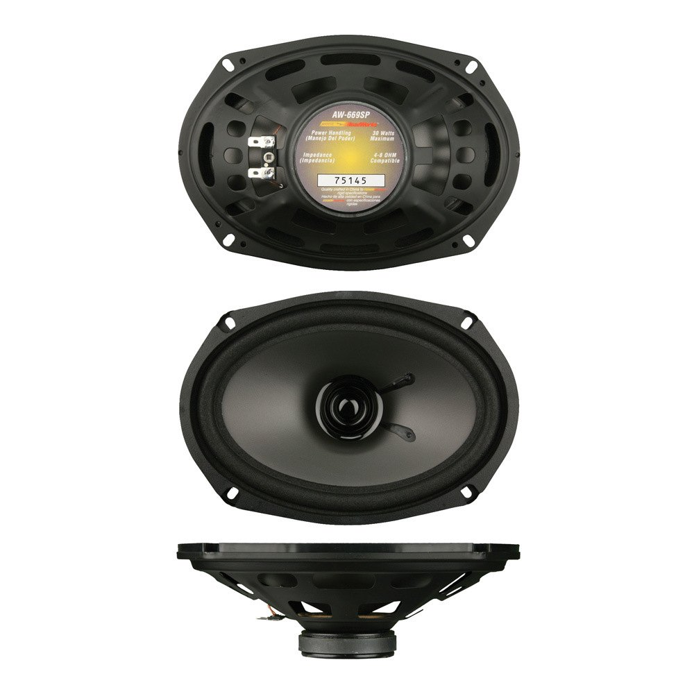 install bay aw 669sp 6 x 9 2 way high performance oem replacement series speaker. Black Bedroom Furniture Sets. Home Design Ideas
