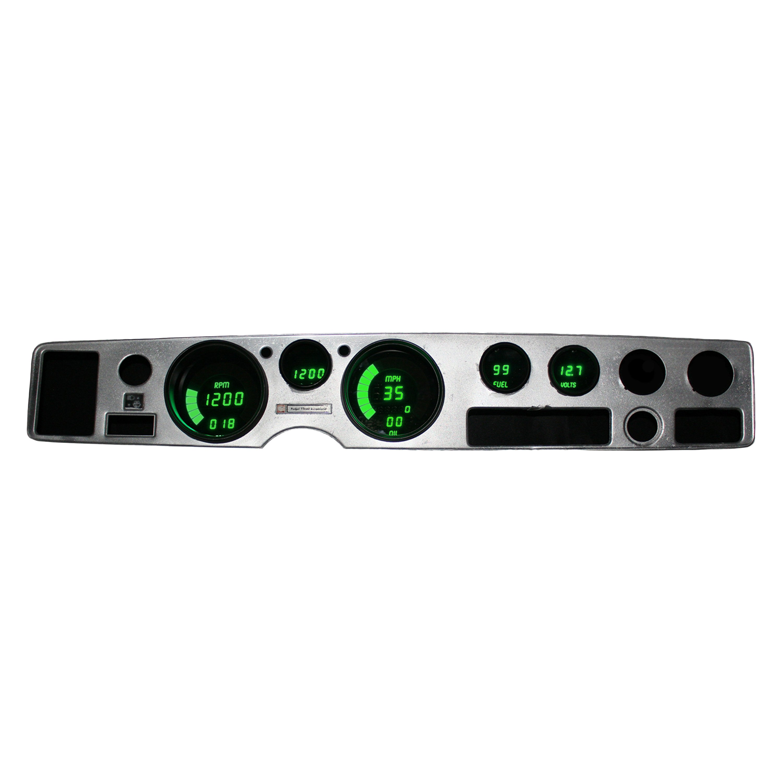 Intellitronix Led Digital Gauges : Intellitronix dp g green led digital replacement
