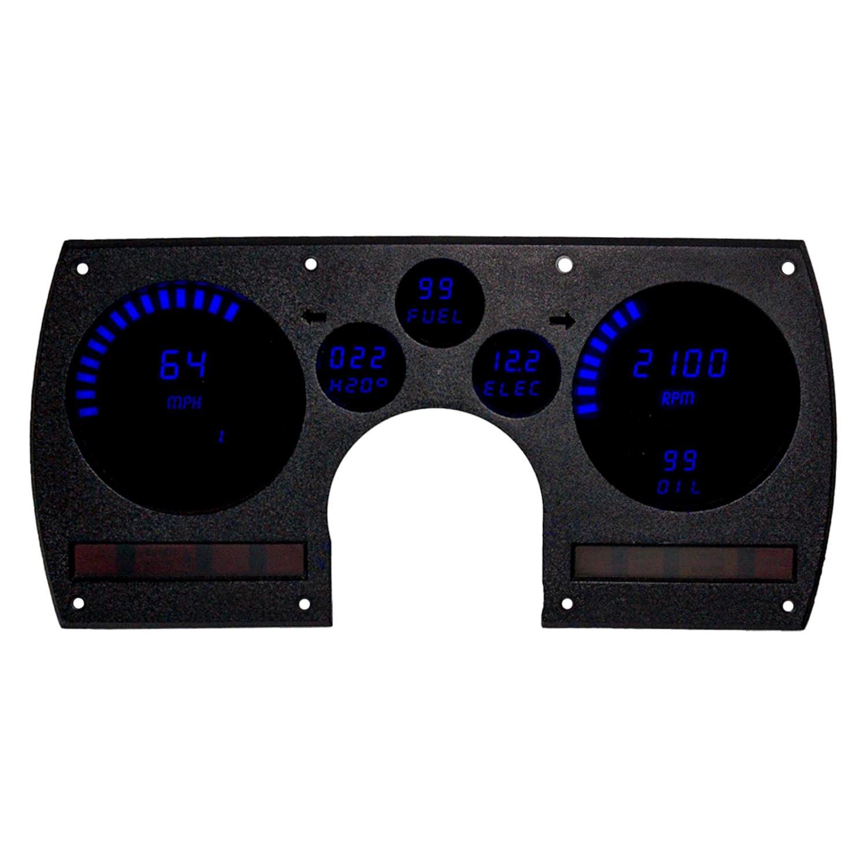 Intellitronix Led Digital Gauges : Intellitronix dp b direct fit led digital gauge