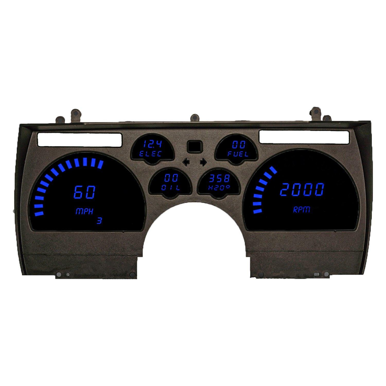 Intellitronix Led Digital Gauges : Intellitronix dp b blue led digital replacement