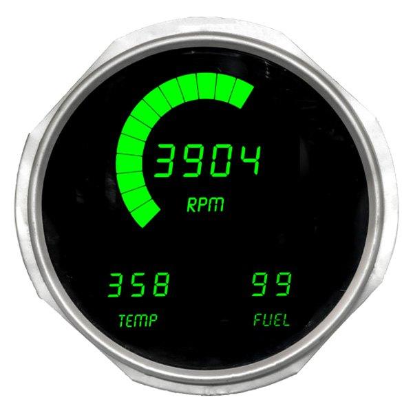 Intellitronix® DP6011G - Direct Fit LED Digital Gauge Panel, Green