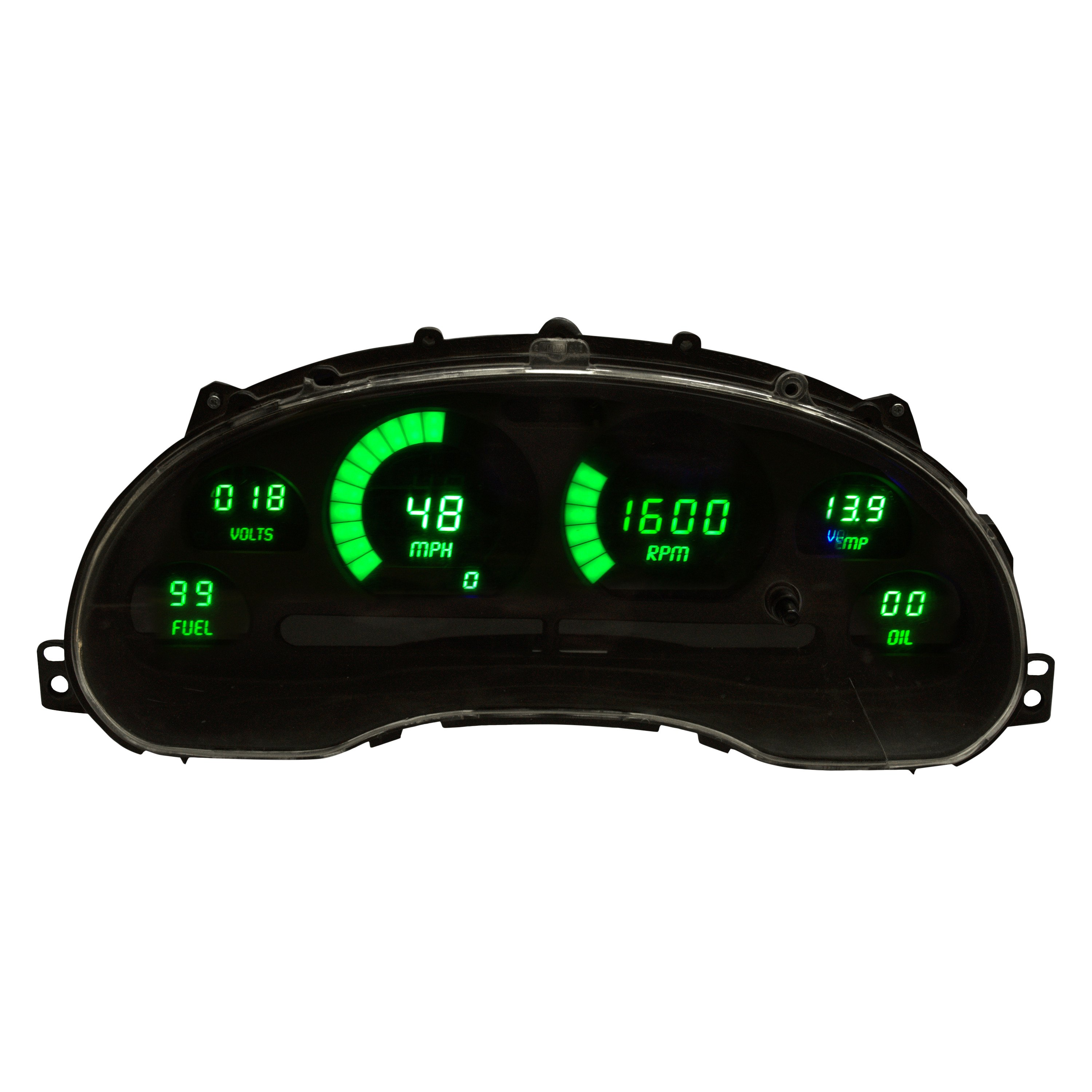 Intellitronix Led Digital Gauges : For ford mustang intellitronix direct fit led