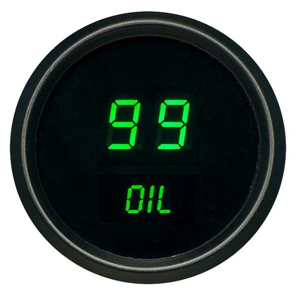 Intellitronix Led Digital Gauges : Intellitronix m g green led digital oil pressure gauge