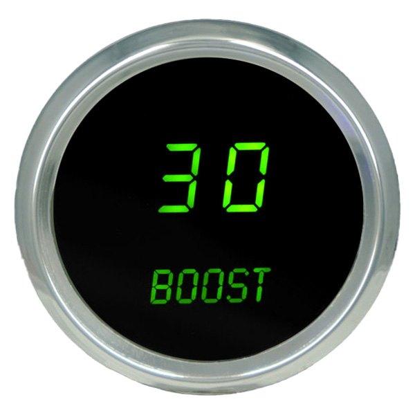 Intellitronix Led Digital Gauges : Intellitronix ms g green led digital boost gauge