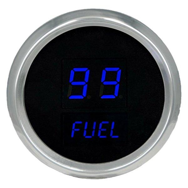 Intellitronix Led Digital Gauges : Intellitronix ms b blue led digital fuel gauge
