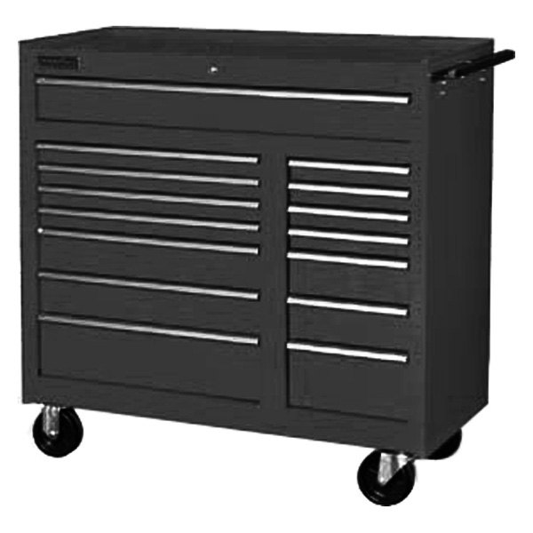 international tool boxes cfb 4215bk classic series 15 drawer black tool cabinet. Black Bedroom Furniture Sets. Home Design Ideas