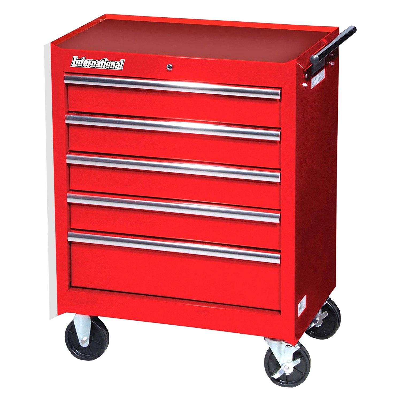 International Tool Boxes®   Workshop Series 5 Drawer Tool Cabinet