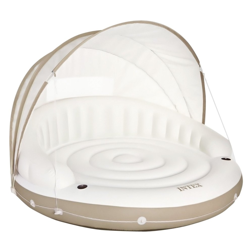 intex canopy island. Black Bedroom Furniture Sets. Home Design Ideas