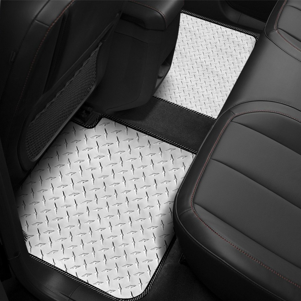 Intro Tech 174 Diamond Plate Floor Mats
