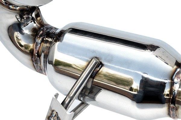 invidia volkswagen golf gti 2013 stainless steel high. Black Bedroom Furniture Sets. Home Design Ideas