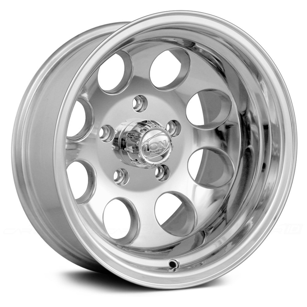 ion alloy 171 wheels   polished silver rims