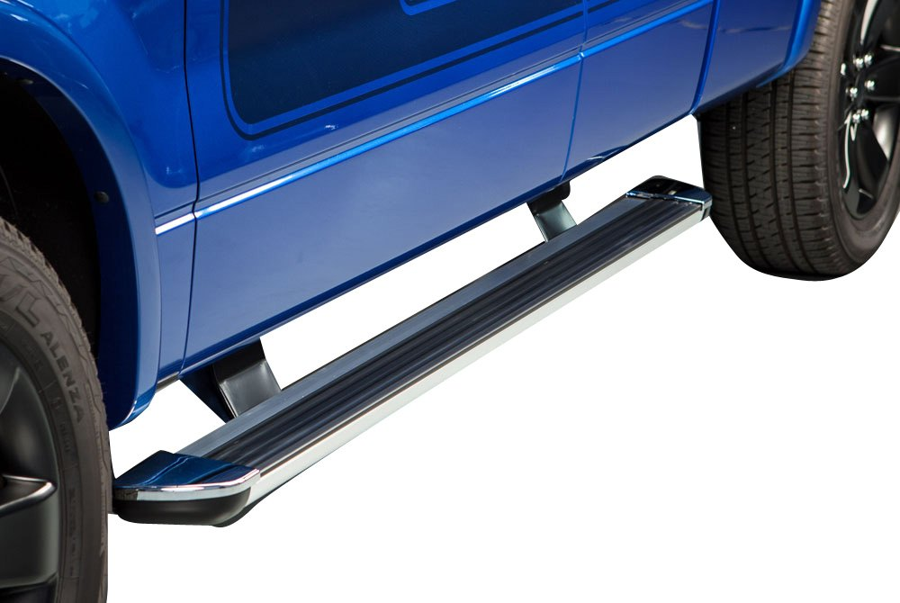 ionic automotive chevy colorado 2004 2012 gladiator running boards with brite trim. Black Bedroom Furniture Sets. Home Design Ideas