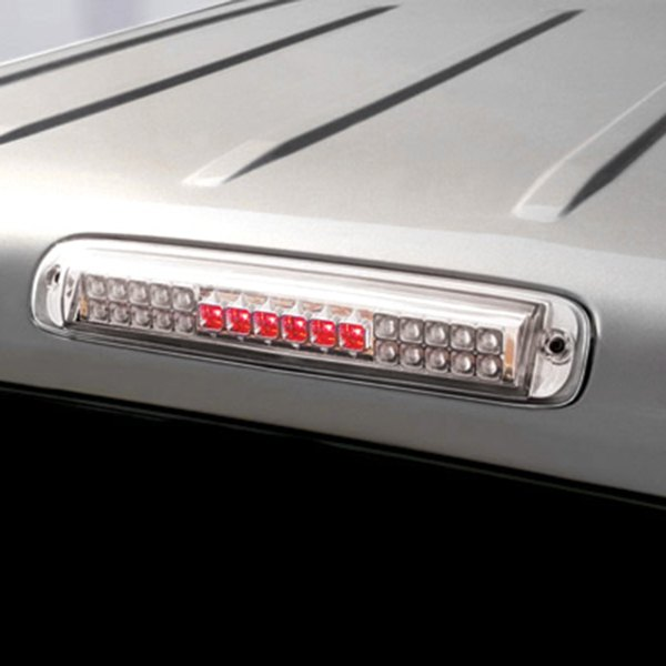 Ipcw Led3 3039dc Chevy Silverado With Cargo Light Function 2004 Chrome Led 3rd Brake Light