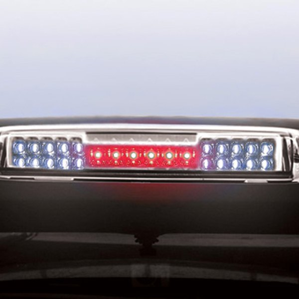 Ipcw Led3 3039dcs Chevy Silverado With Cargo Light Function 2004 Chrome Smoke Led 3rd Brake Light
