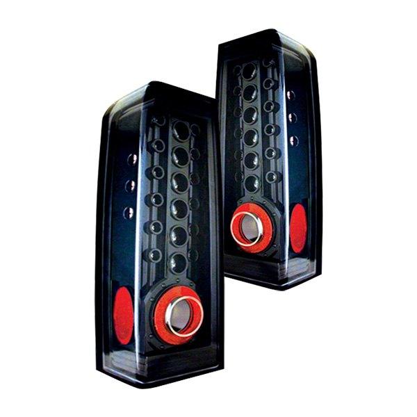 IPCW® LEDT-346CB - Black LED Tail Lights