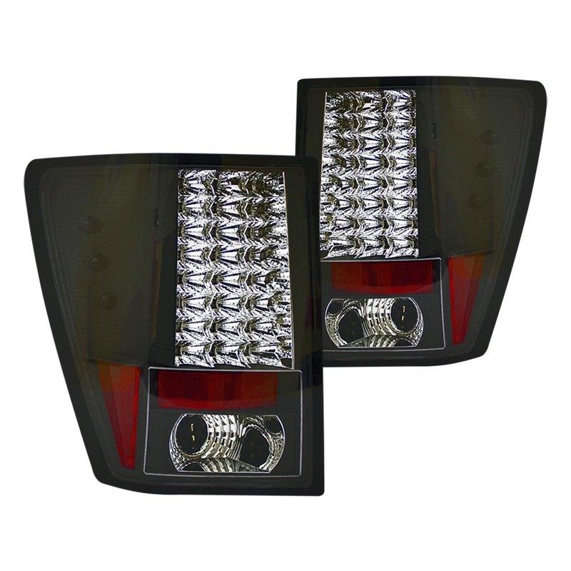 ipcw jeep grand cherokee 2008 black led tail lights. Black Bedroom Furniture Sets. Home Design Ideas