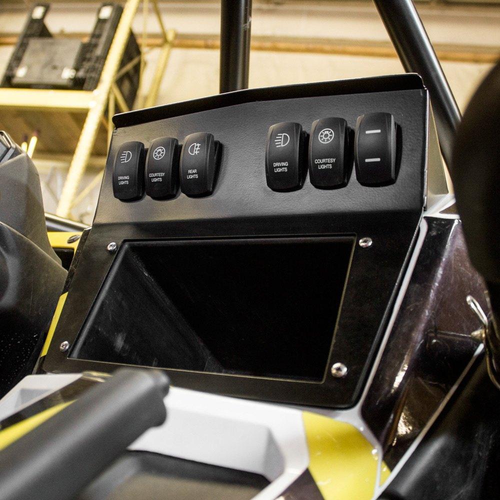 Excavator Instrument Panel : Iq equipment dash panel