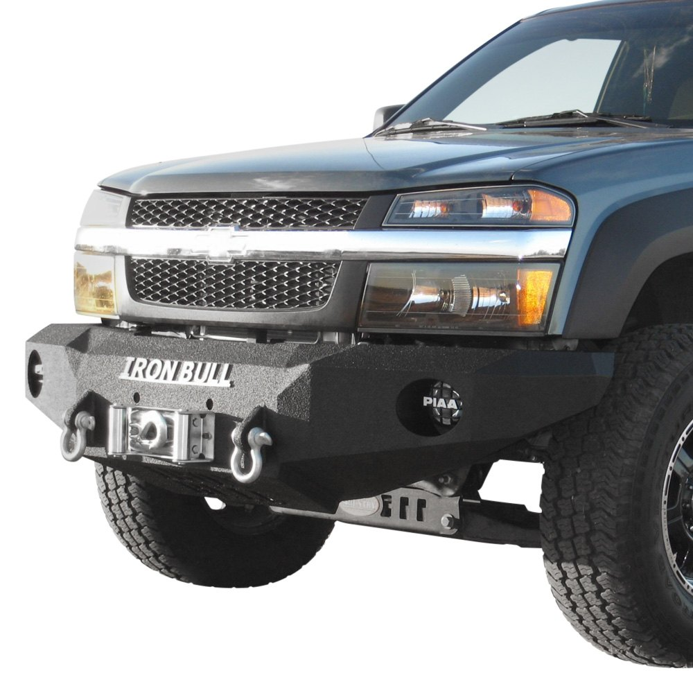 Iron Bull Bumpers : Iron bull bumpers chevy colorado base front winch