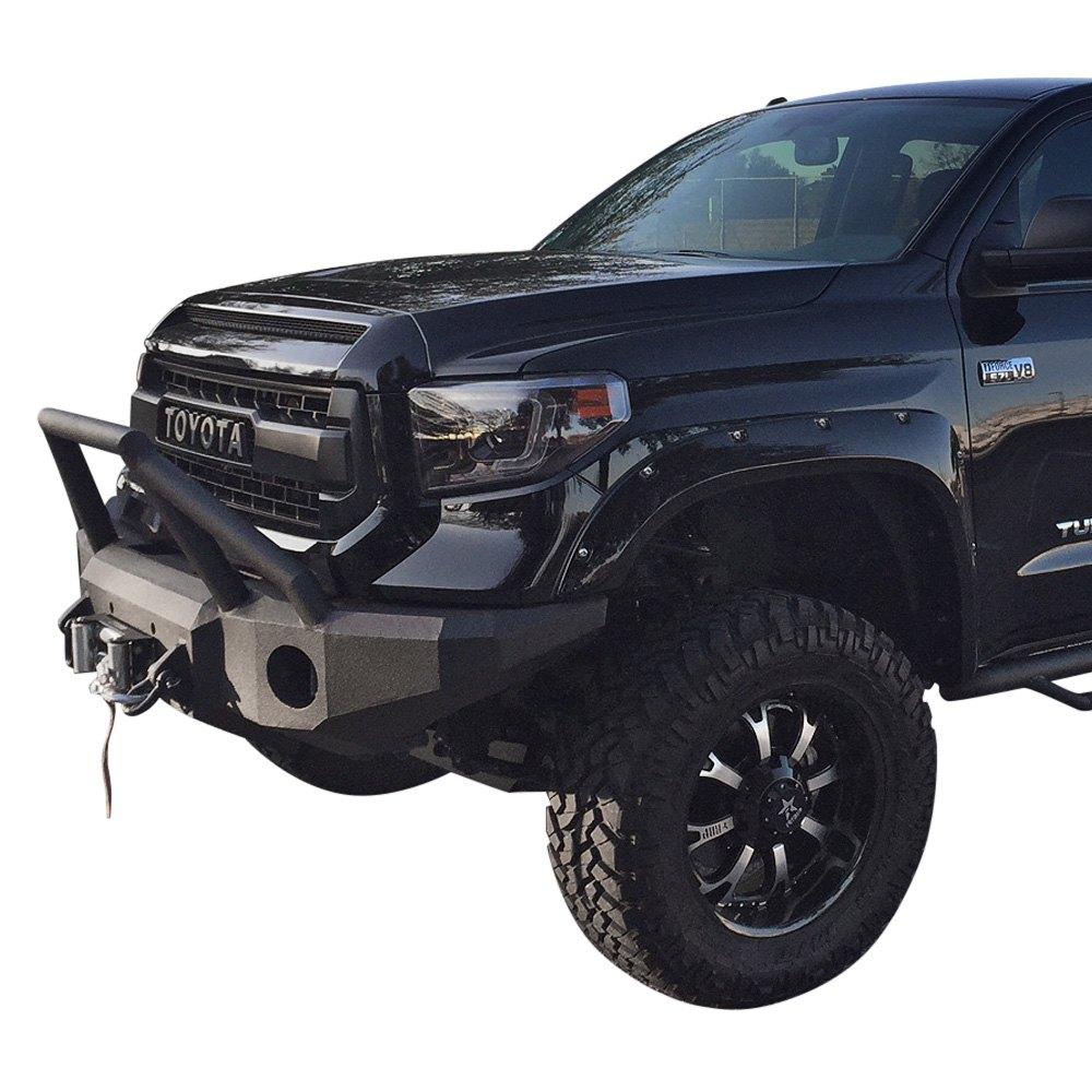Iron Bull Bumpers : Iron bull bumpers toyota tundra full width black