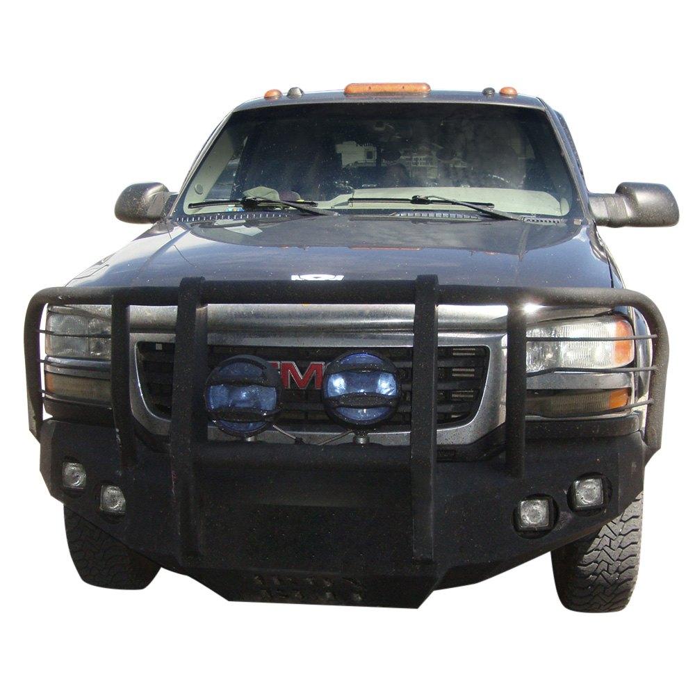 Iron Bull Bumpers : Iron bull bumpers gmc sierra full width black