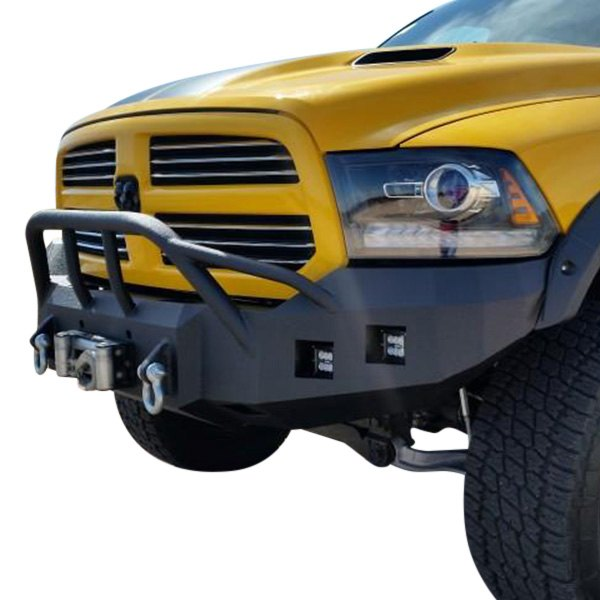Iron Bull Bumpers : Iron bull bumpers baja series base front winch bumper