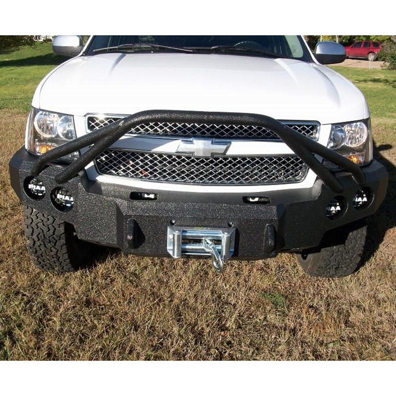 Iron Bull Bumpers : Iron bull bumpers chevy tahoe defender series