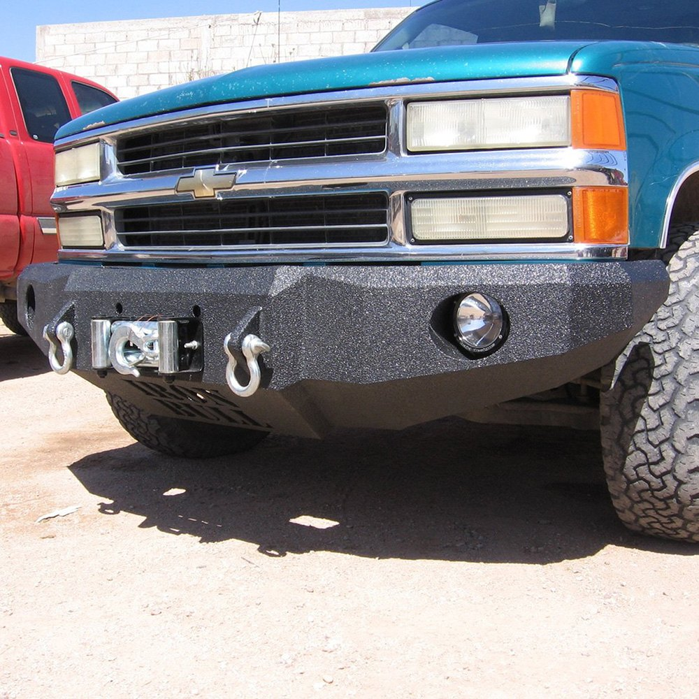 Iron Bull Bumpers : Iron bull bumpers gmc ck pickup full width black