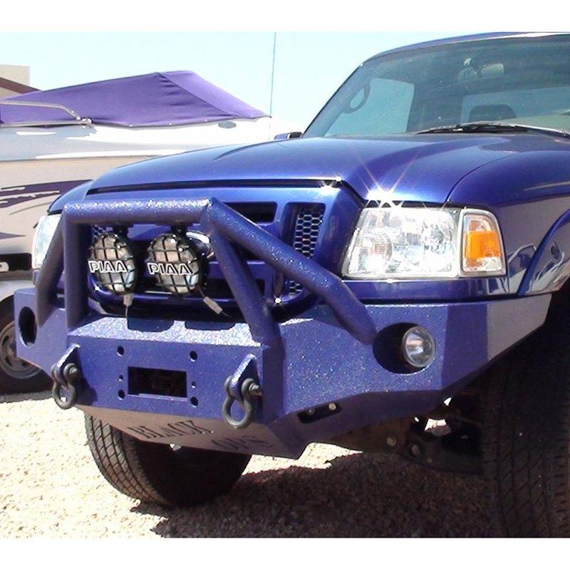 Iron Bull Bumpers : Iron bull bumpers ford ranger full width black