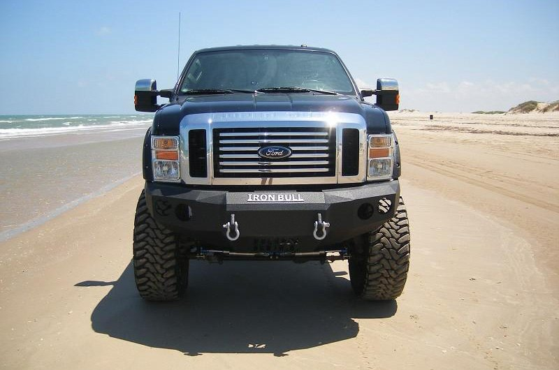 Iron Bull Bumpers : Iron bull bumpers ford f full width black