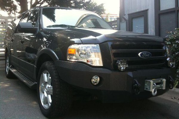 Iron Bull Bumpers 174 Ford Expedition 2008 Full Width Black
