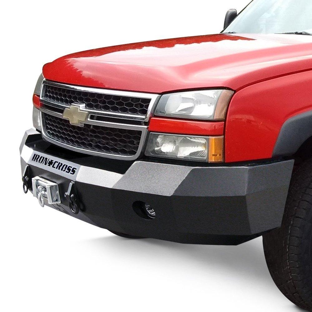 Heavy Duty Front Steel Bumper With Winch Mount Da5645 For: For Chevy Silverado 1500 03-06 Bumper Heavy Duty Series