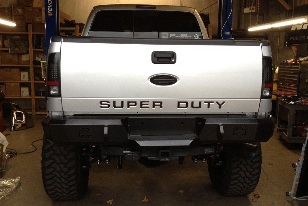 Iron Cross® - Heavy Duty Series Full Width Rear HD Bumper