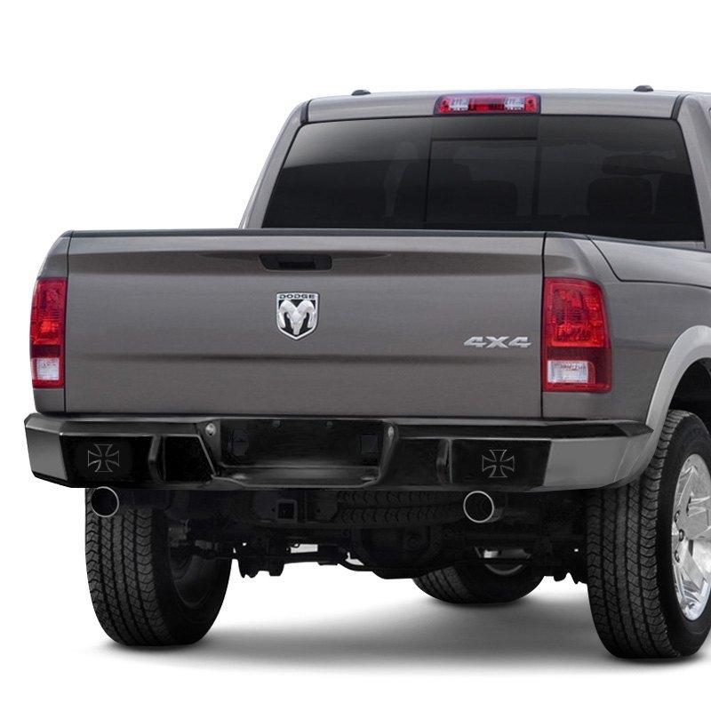2012 Dodge Ram 1500 >> Iron Cross® - Dodge Ram 1500 / 2500 / 3500 2012 Heavy Duty Series Full Width Rear HD Bumper