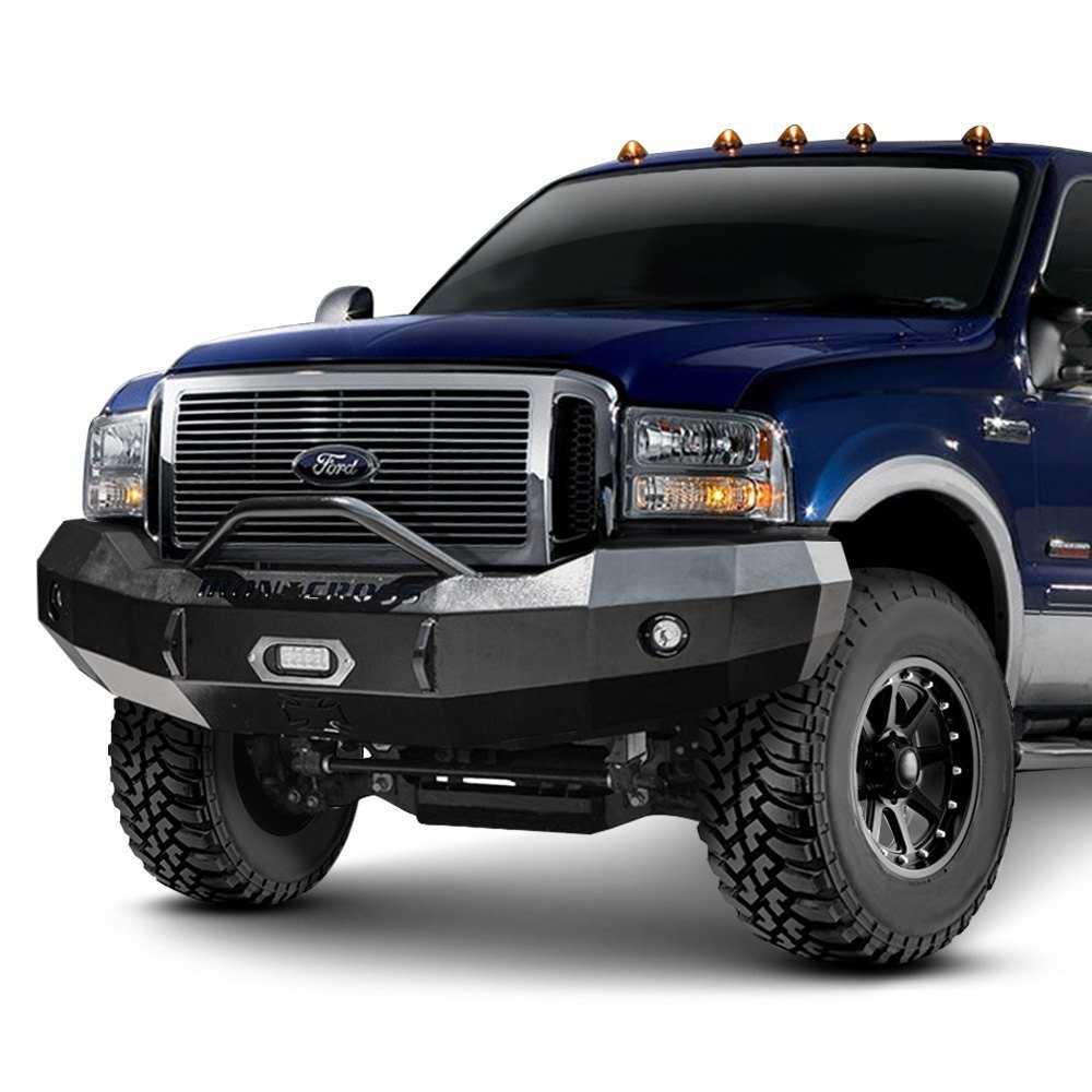 Iron cross heavy duty series full width front hd raw bumper