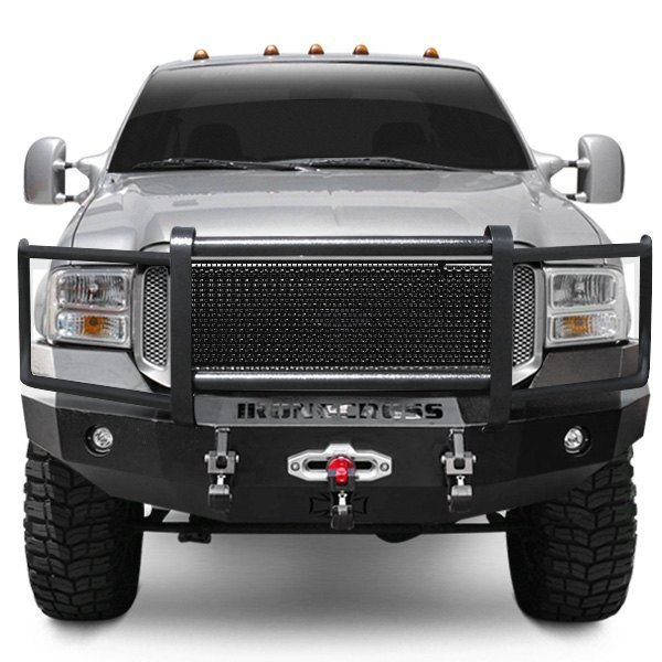 iron cross bumper front heavy guard duty winch ford 2006 bumpers series hd grille width 250 grill carid vehicle super